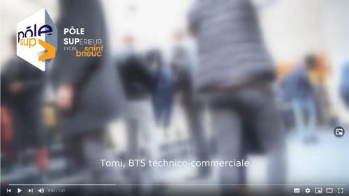 Pôle supérieur Lycée Saint-Brieuc - BTS Technico-commercial