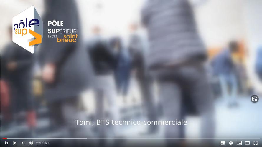 Pôle supérieur Lycée Saint-Brieuc - BTS Technico-commercial 0
