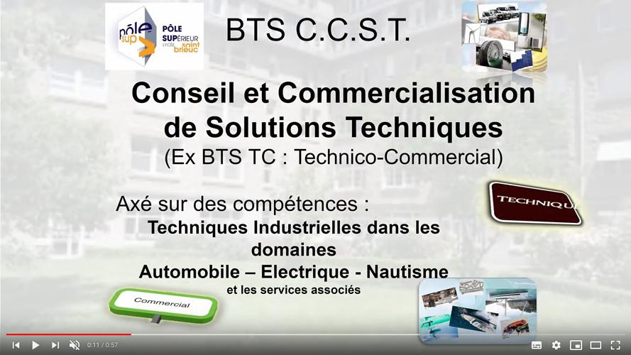 Le BTS CCST remplace le BTS TC 0